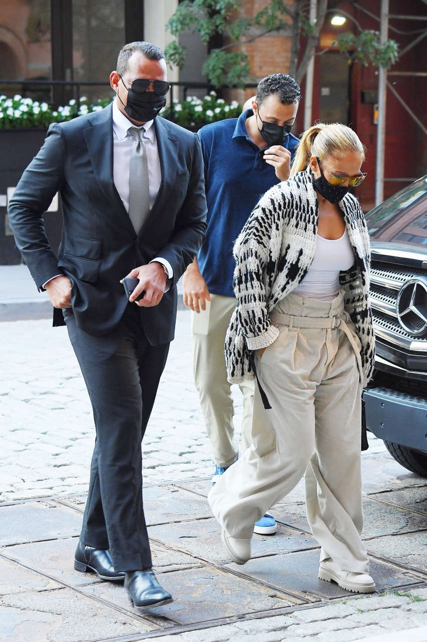 Jennifer Lopez Alex Rodriguez Out New York