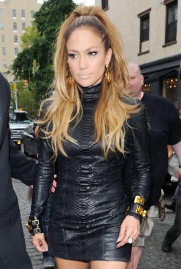 Jennifer Lopez Set Music Video Manhattan