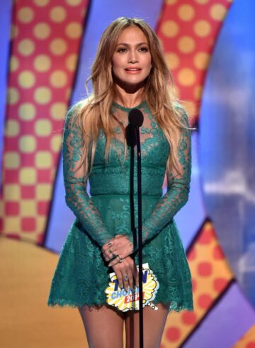 Jennifer Lopez Teen Choice Awards 2014 Los Angeles