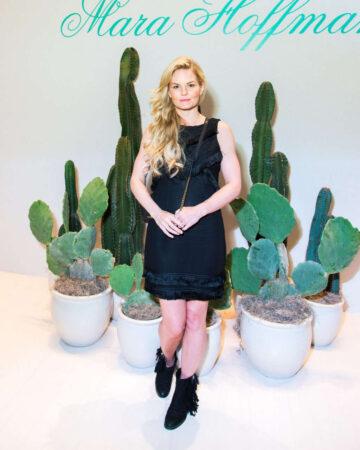 Jennifer Morrison Mara Hoffman Fashion Show New York