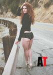Jenny Savage Alwayz Therro Magazine March 2014 Issue
