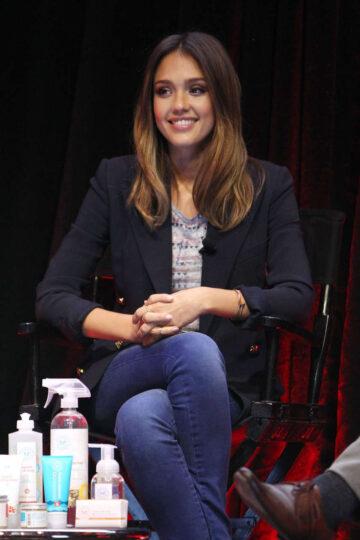 Jessica Alba An Honest Conversation Panel New York
