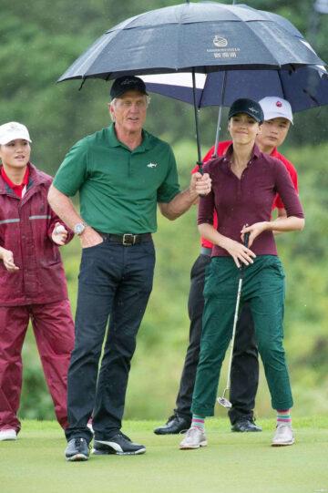 Jessica Alba Mission Hills World Celebrity Pro Am Golf Tour China