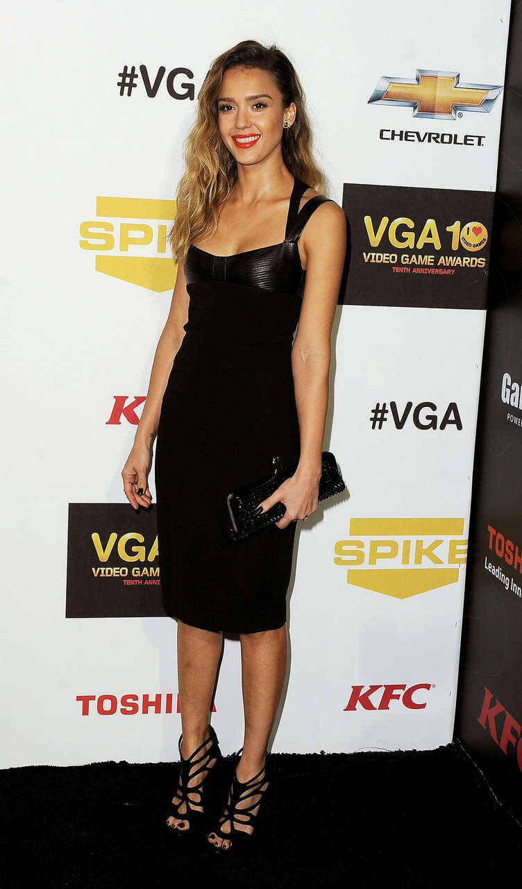 Jessica Alba Spike Tvs 10th Annual Video Game Awards Culver City