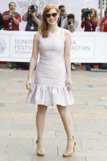 Jessica Chastain 62nd San Sebastian Film Festival Spain