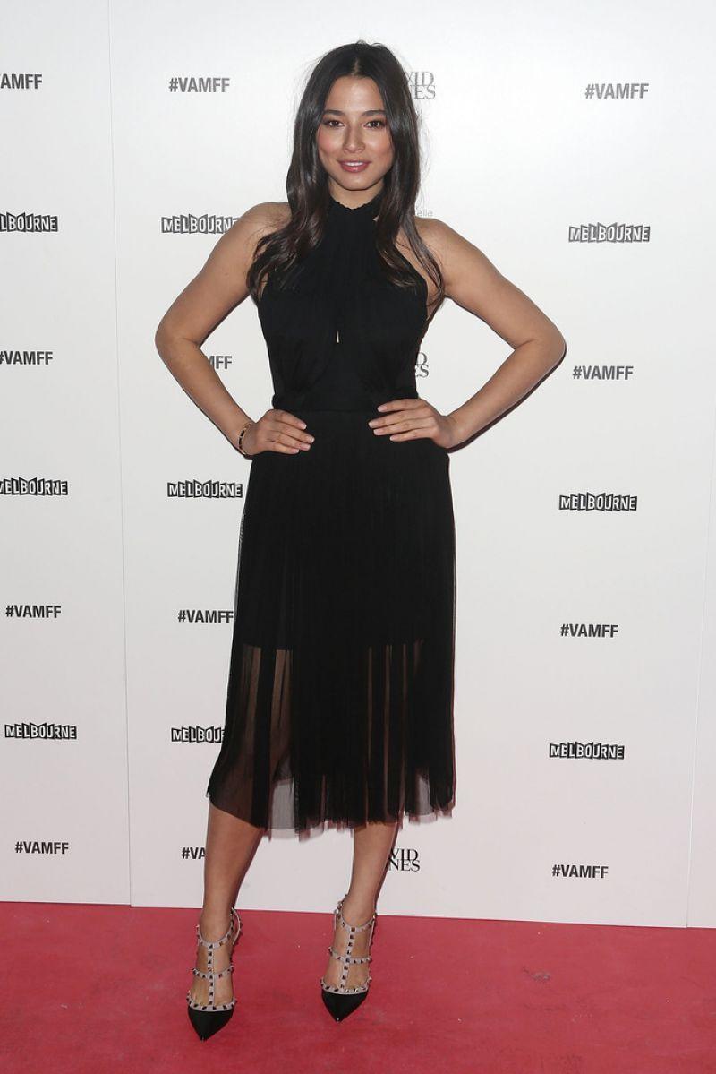 Jessica Gomes David Jones Fashion Show Melbourne