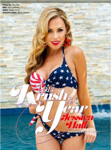 Jessica Hall Kandy Magazine July 2014 Issue