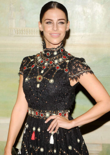 Jessica Lowndes Alice Olivia By Stacey Bendet Fashion Show New York