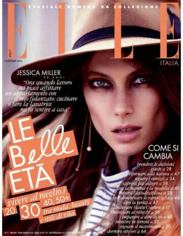 Jessica Miller Elle Magazine November 2014 Issue