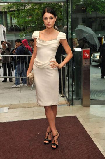 Jessica Stam 40th Annual Fifi Awards New York