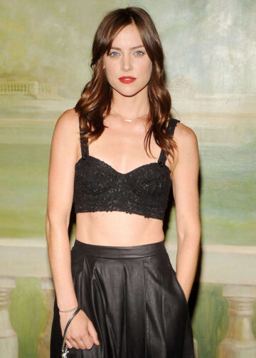 Jessica Stroup Alice Olivia By Stacey Bendet Fashion Show New York