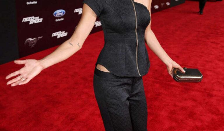 Jessica Szohr Need Speed Premiere Hollywood (6 photos)