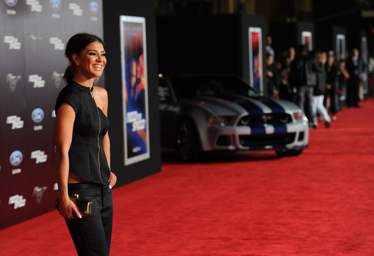Jessica Szohr Need Speed Premiere Hollywood
