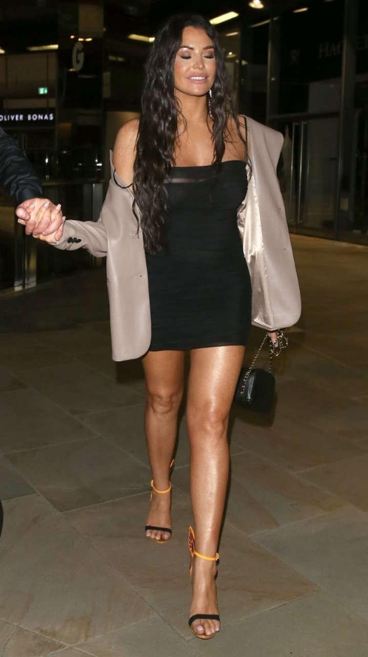 Jessica Wriht Night Out London