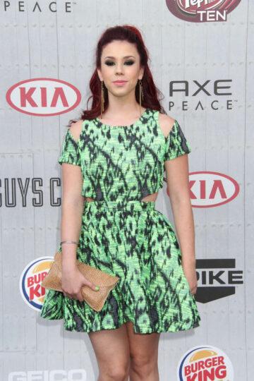 Jillian Rose Reed Spike Tvs Guys Choice Awards Culver City