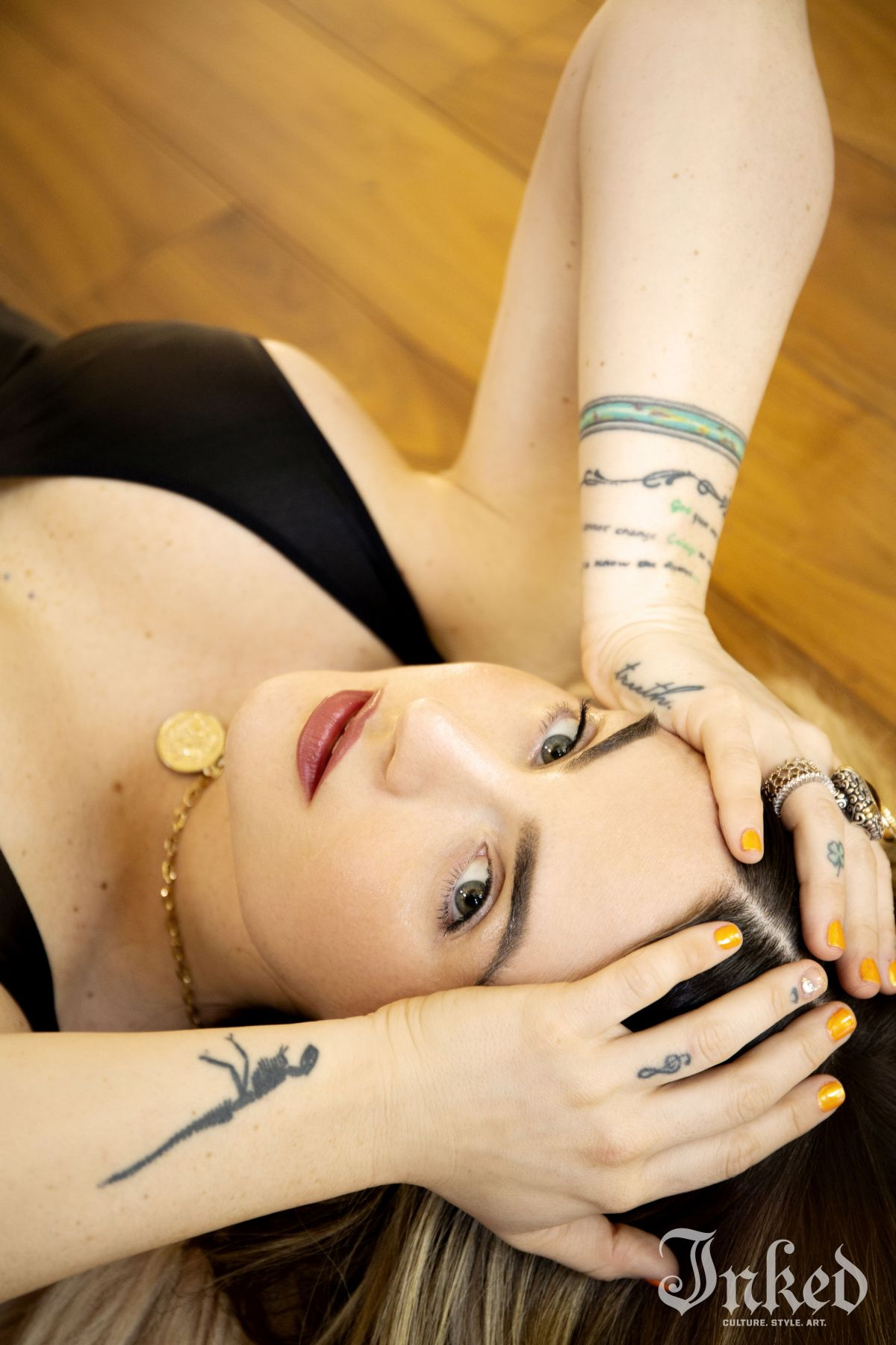 Joanna Jojo Levesque For Inked Magazine August
