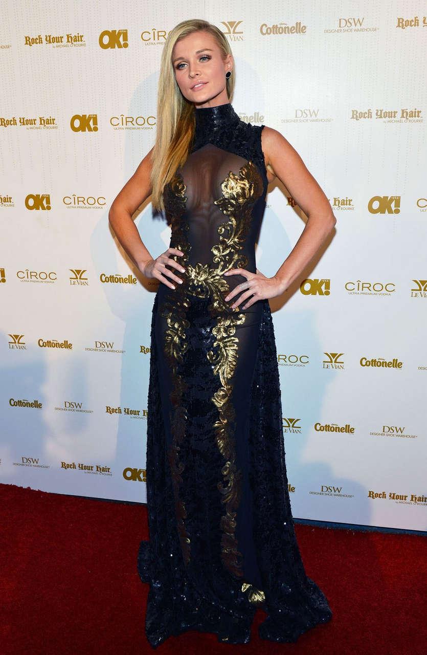 Joanna Krupa Ok Magazines Pre Oscar Party West Hollywood