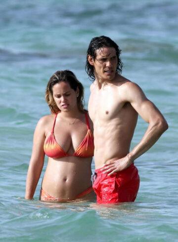 Jocelyn Burgardt Bikini Beach Italy