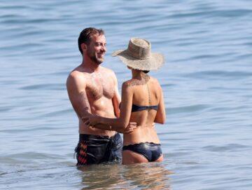 Jordana Brewster Bikini Beach Malibu