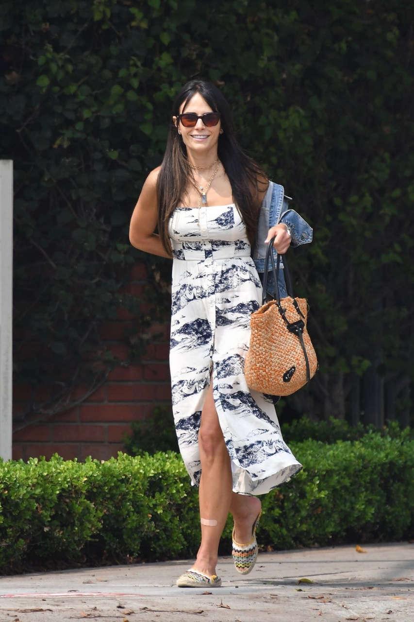 Jordana Brewster Out About Santa Monica