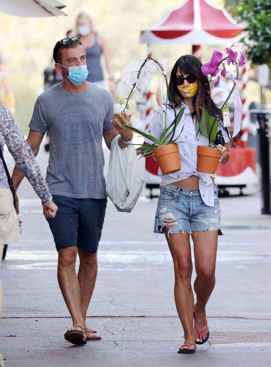 Jordana Brewster Out Shopping Santa Monica
