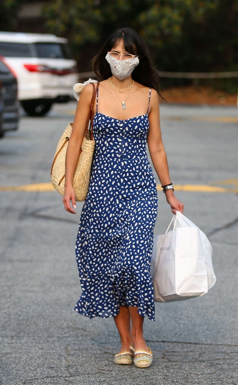 Jordana Brewster Shopping Brentwood Country Mart