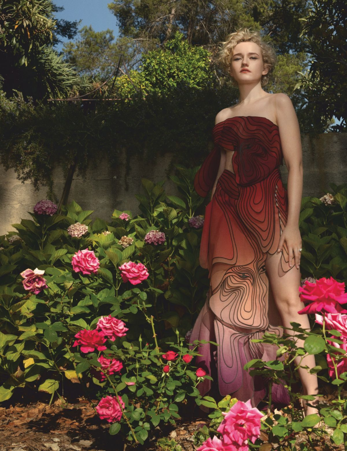 Julia Garner Hollywood Reporter Magazine August
