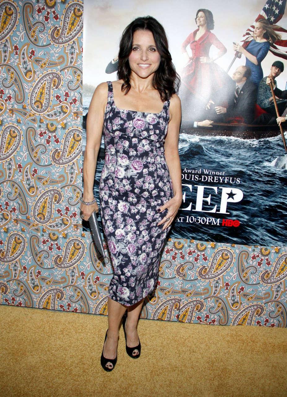 Julia Louis Dreyfus Veep Season 3 Premiere Hollywood