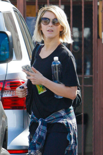 Julianne Hough Arrives Dancing With Stars Studio Hollywood