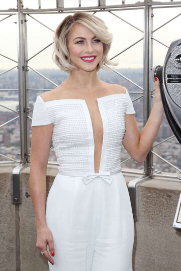 Julianne Hough Empire State Building New York