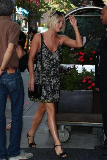 Julianne Hough Leaves Trump Soho Hotel New York