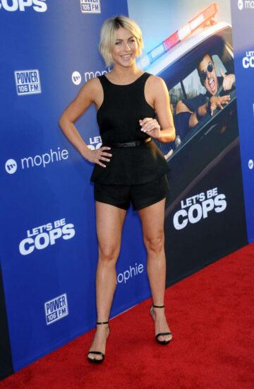 Julianne Hough Lets Be Cops Premiere Los Angeles