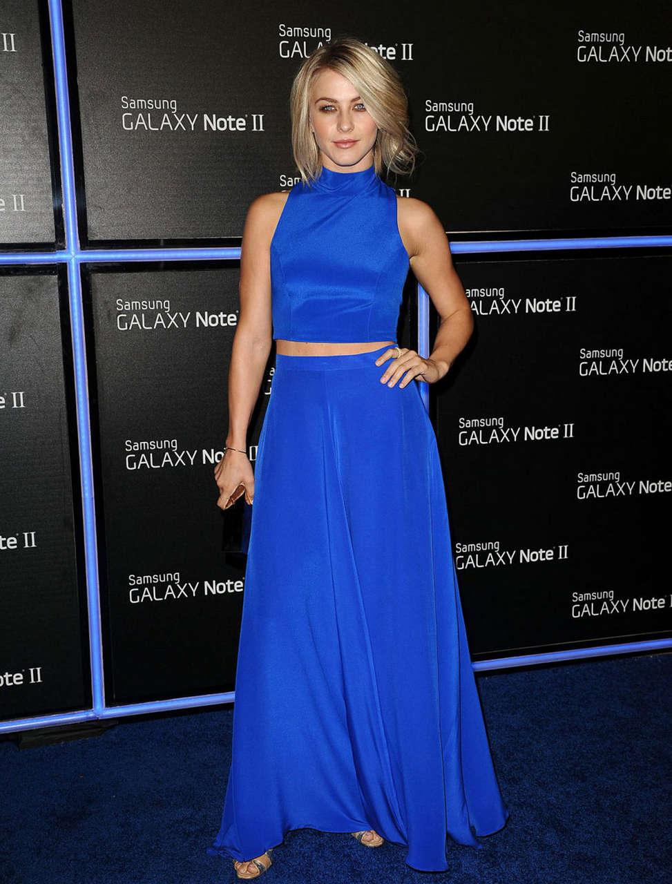 Julianne Hough Samsung Galaxy Note Ii Launch Beverly Hills