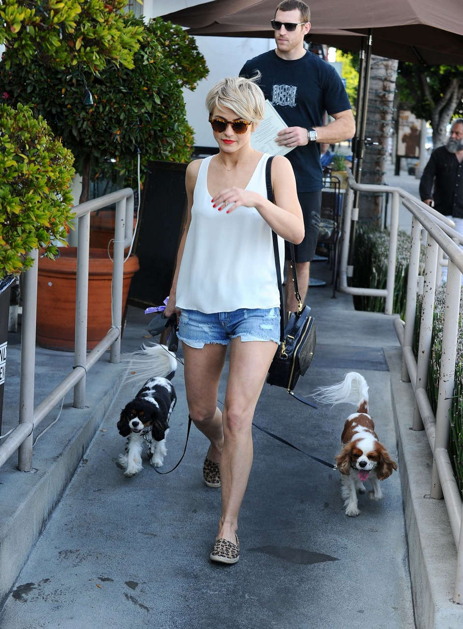 Julianne Hough Shorts Out About Los Angeles