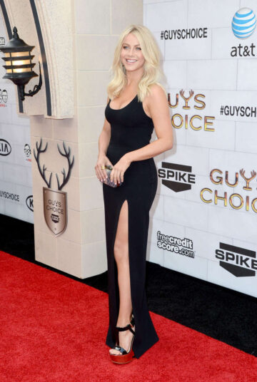 Julianne Hough Spike Tvs 6th Annual Guys Choice Awards Los Angeles