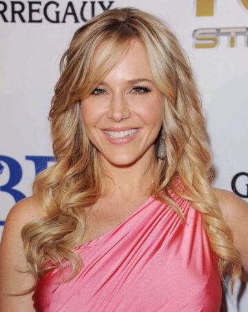 Julie Benz Launch Andrea Bocelli Foundation Beverly Hills