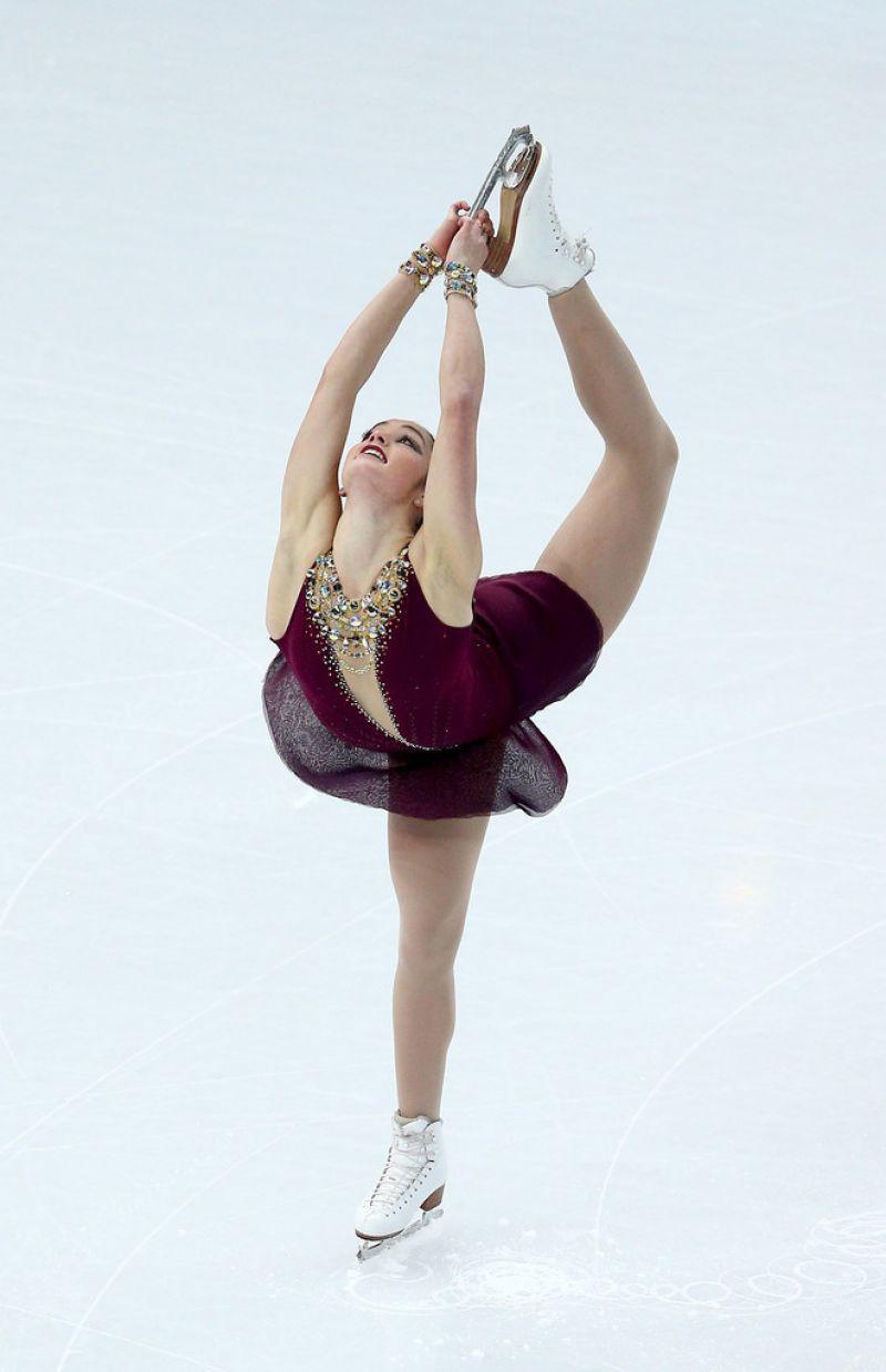 Kaetlyn Osmond Team Ladies Free Skating 2014 Winter Olympics Sochi