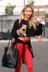 Kaitlyn Brislowe Arrives Dwts Practice Los Angeles