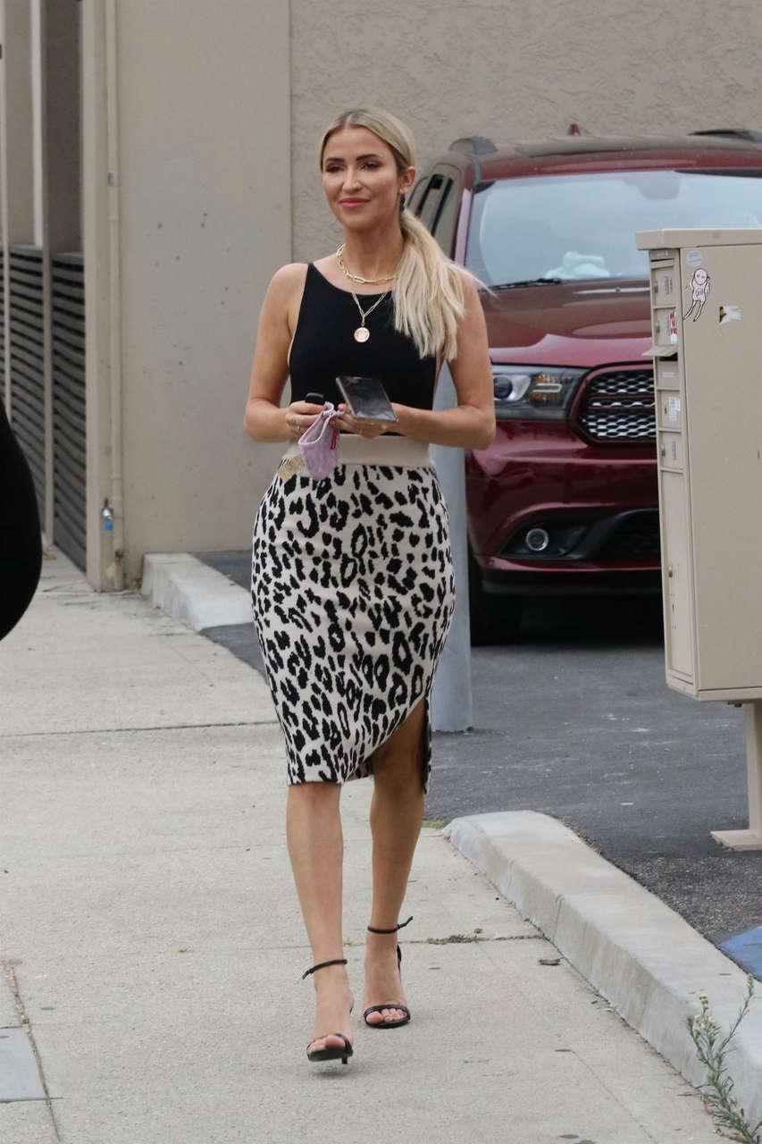 Kaitlyn Bristlowe Arrives Dancing With Stars Studio Los Angeles