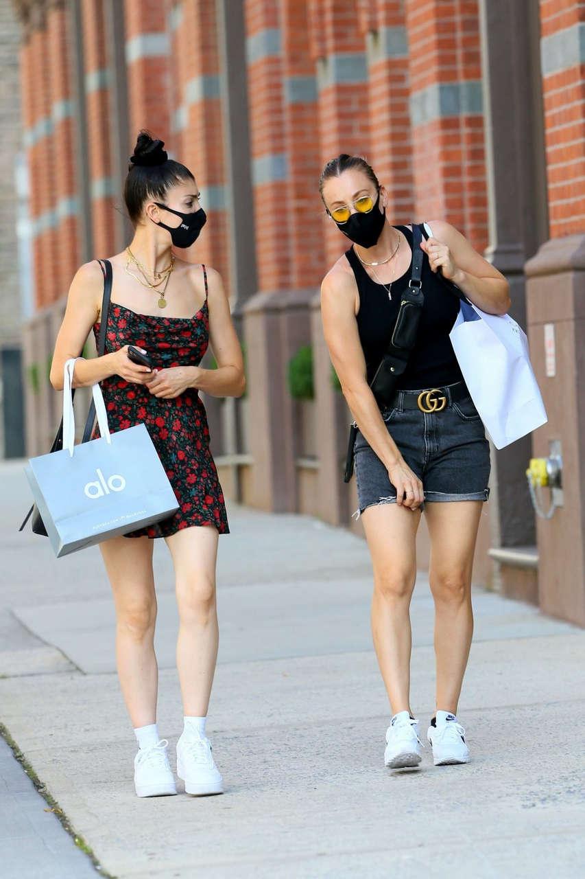 Kaley Briana Cuoco Out Shopping New York