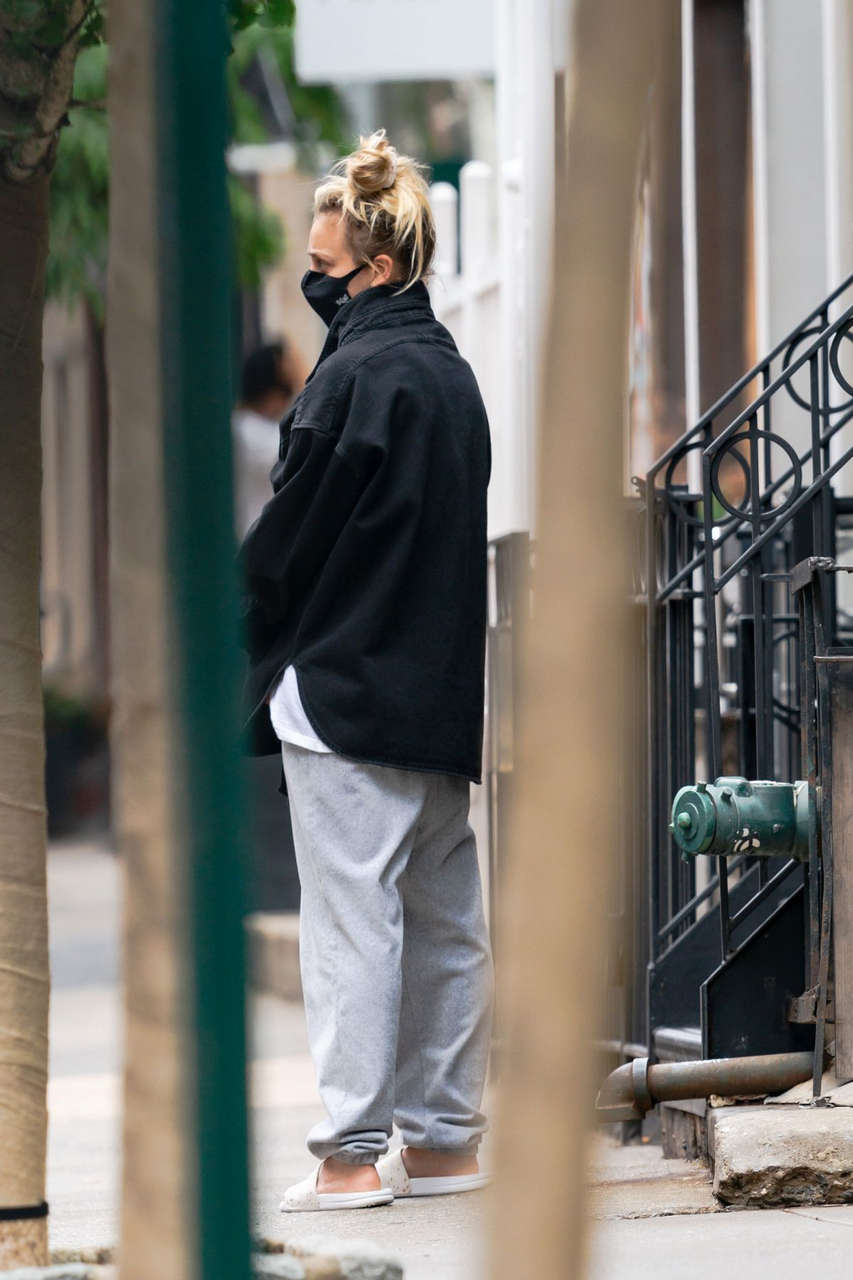 Kaley Couco Out With Her Dog New York