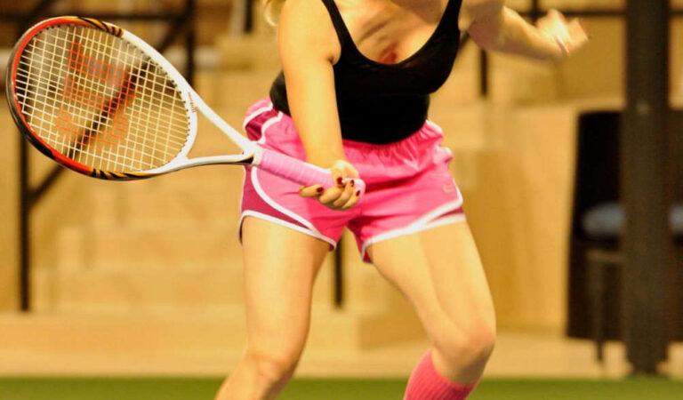 Kaley Cuococ At Charity Tennis Match Calabasas (21 photos)