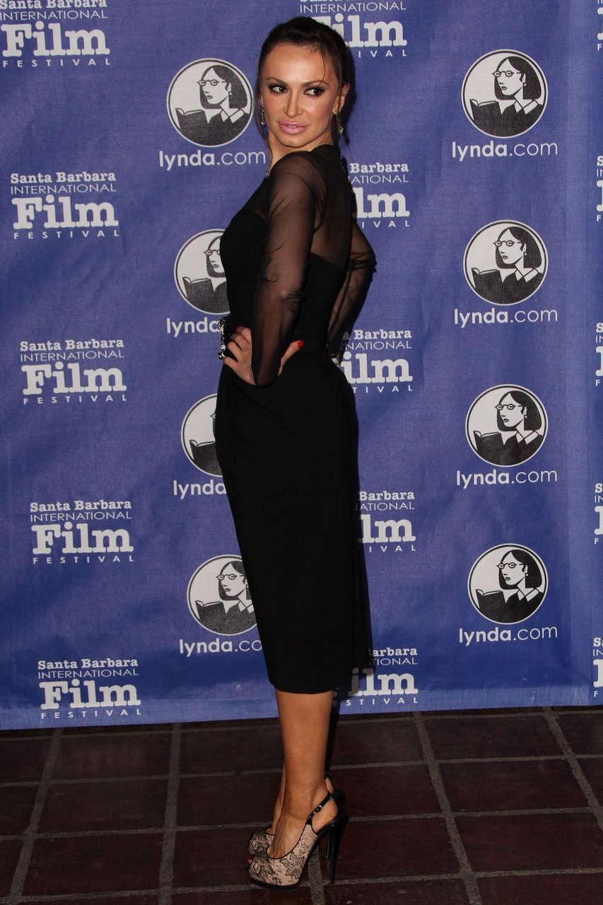 Karina Smirnoff Cinema Vanguard Award To Martin Scorsese Leonardo Dicaprio