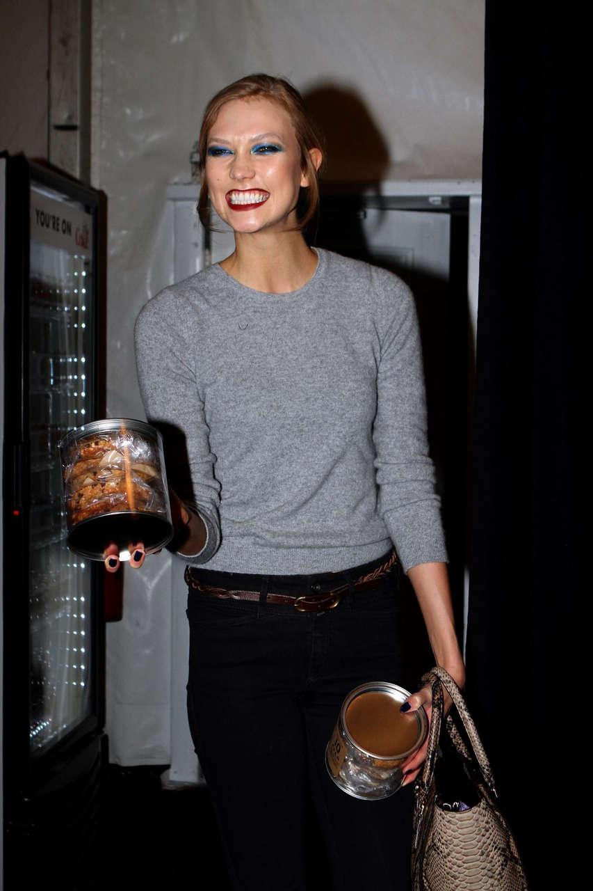 Karlie Kloss Mercedes Benz Fashion Week New York