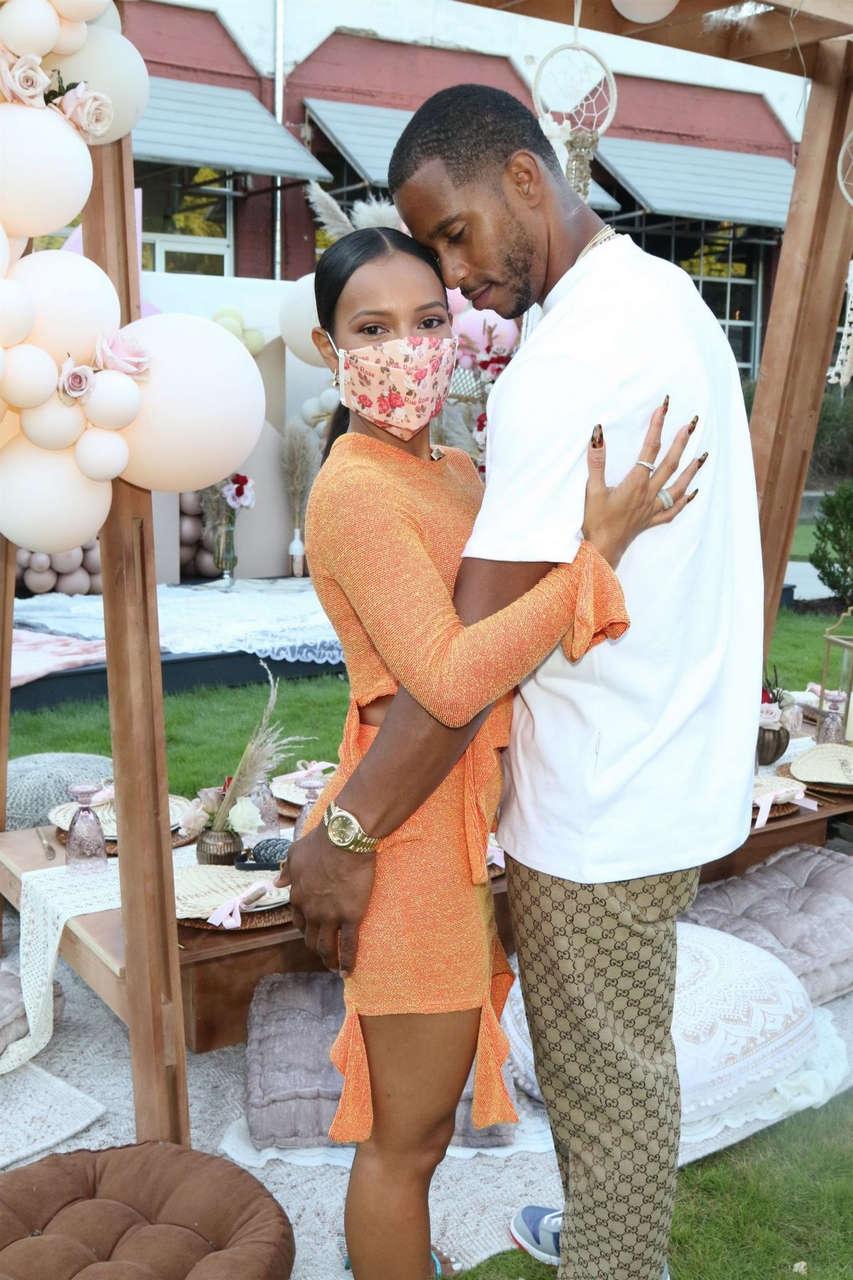 Karrueche Tran Teyana Imans Babyshower Atlanta