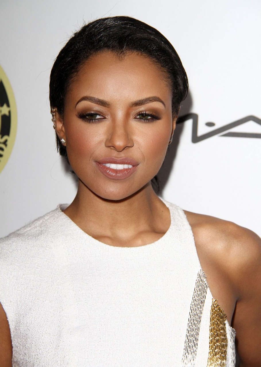 Kat Graham Annual Make Up Artists Hair Stylists Guild Awards Hollywood