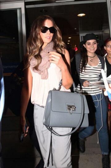 Kate Beckinsale Arrives Airport Toronto