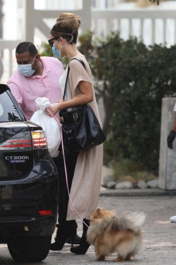 Kate Beckinsale Leaves Shutters Hotel Santa Monica