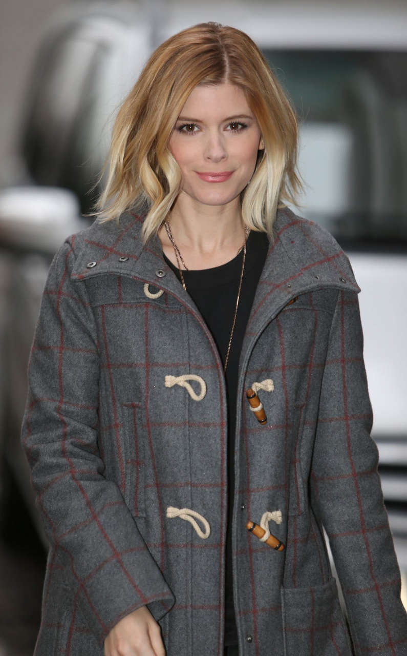 Kate Mara Arrives Studio London