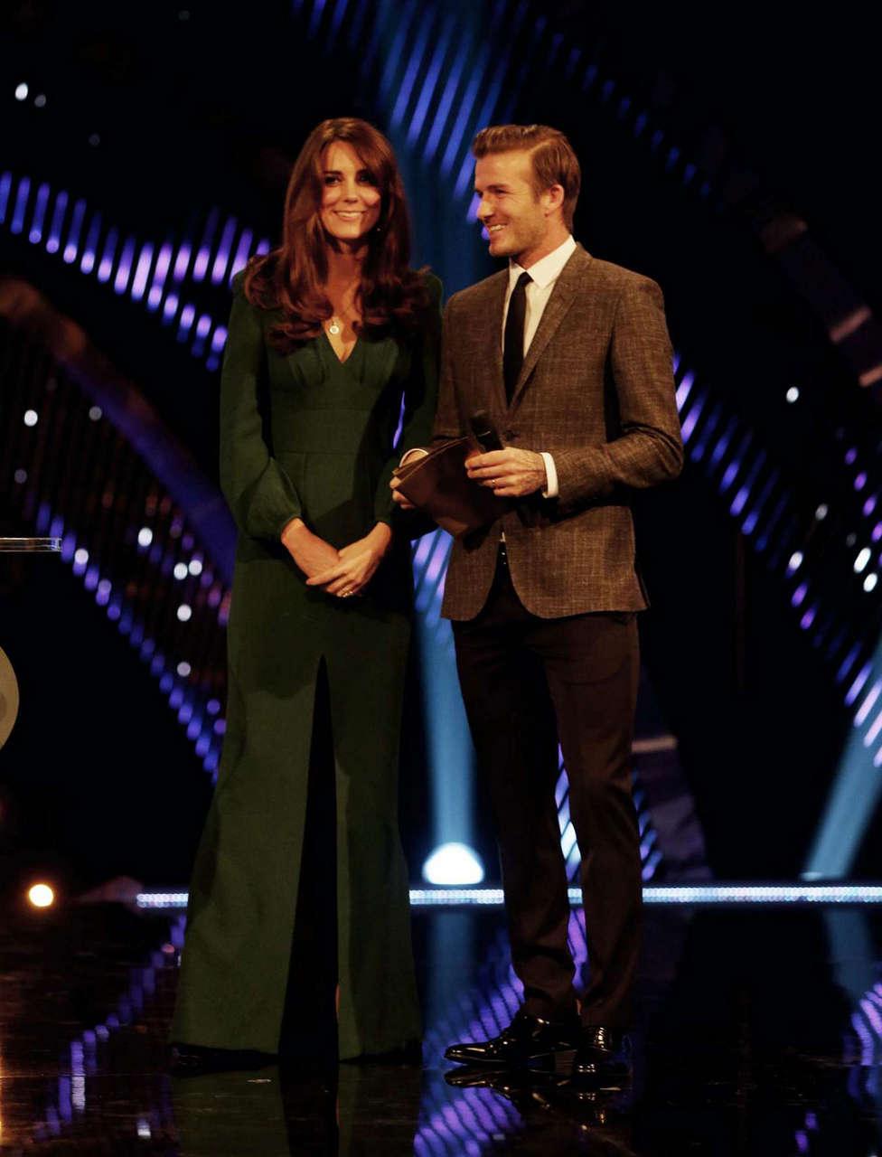 Kate Middleton 2012 Bbc Sports Personality Year Awards Lodon